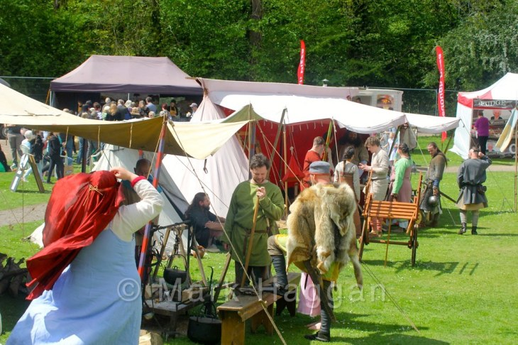 The Vikings of Middle England at Moira Canal Festival 2015