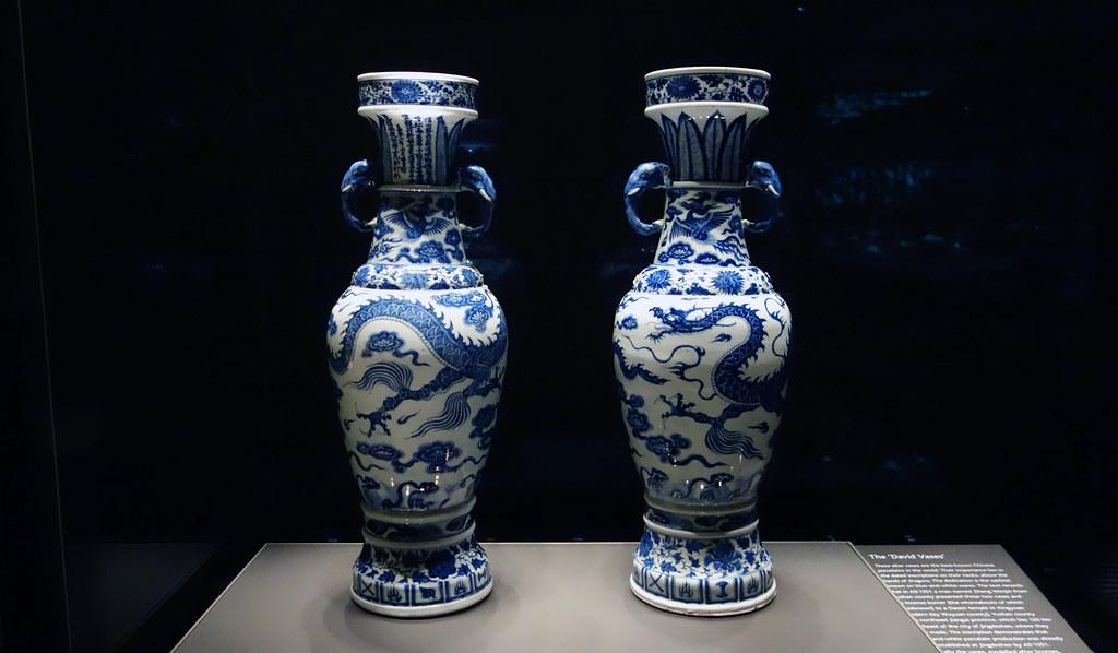 The David Vases centered  The David Vases 1351 Yuan