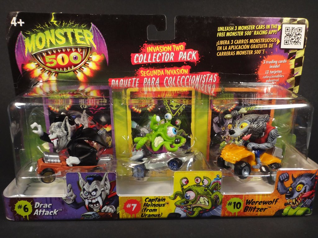 Monster 500 3pack  Toy line exclusive to Toys R Us  Dex  Flickr