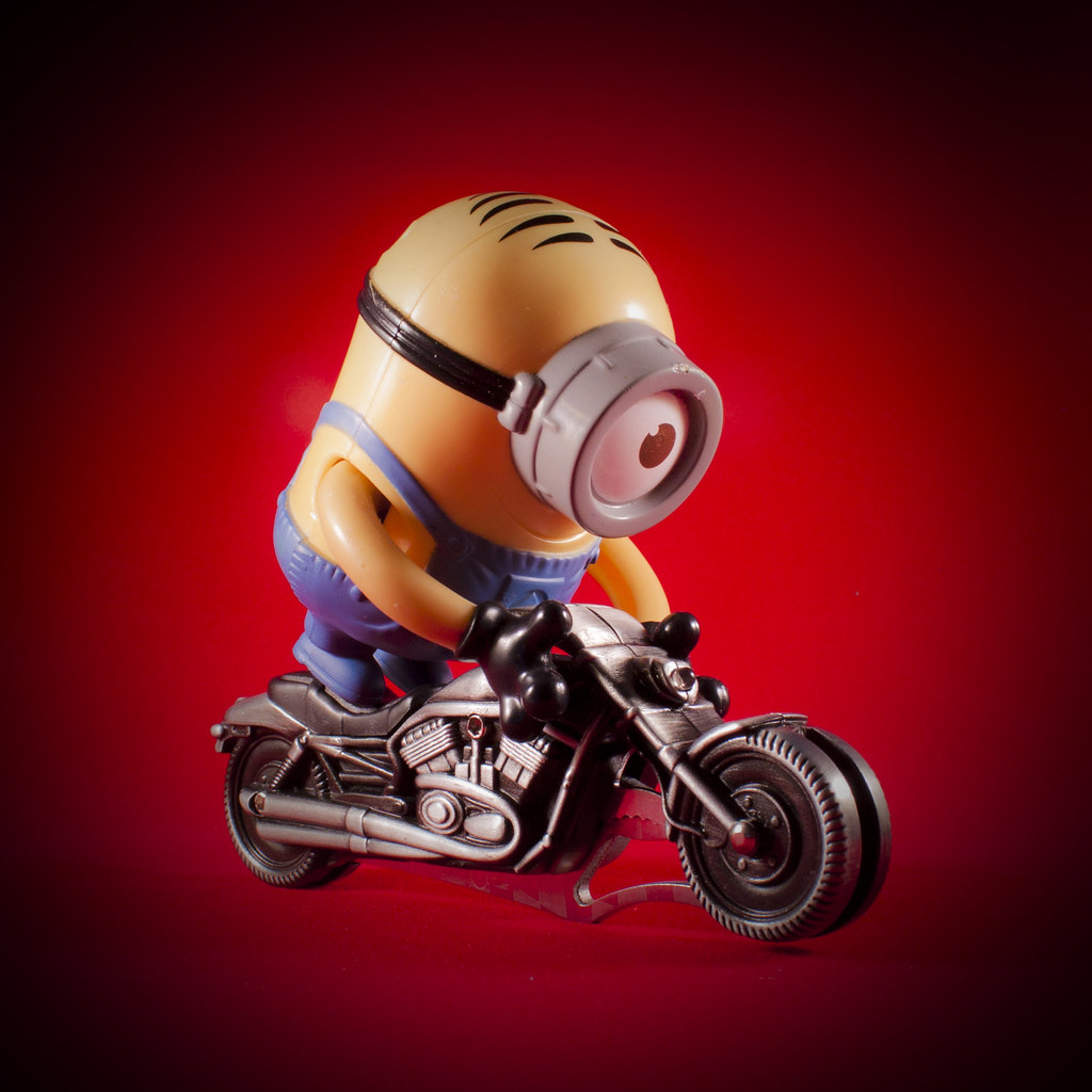 Minion Taking A Ride Veronica Aguilar Flickr