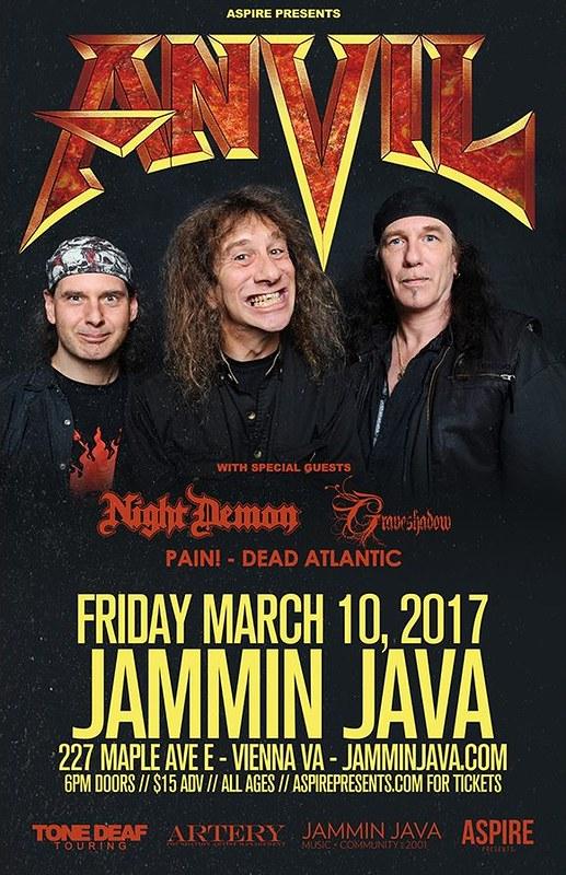 Anvil at Jammin' Java