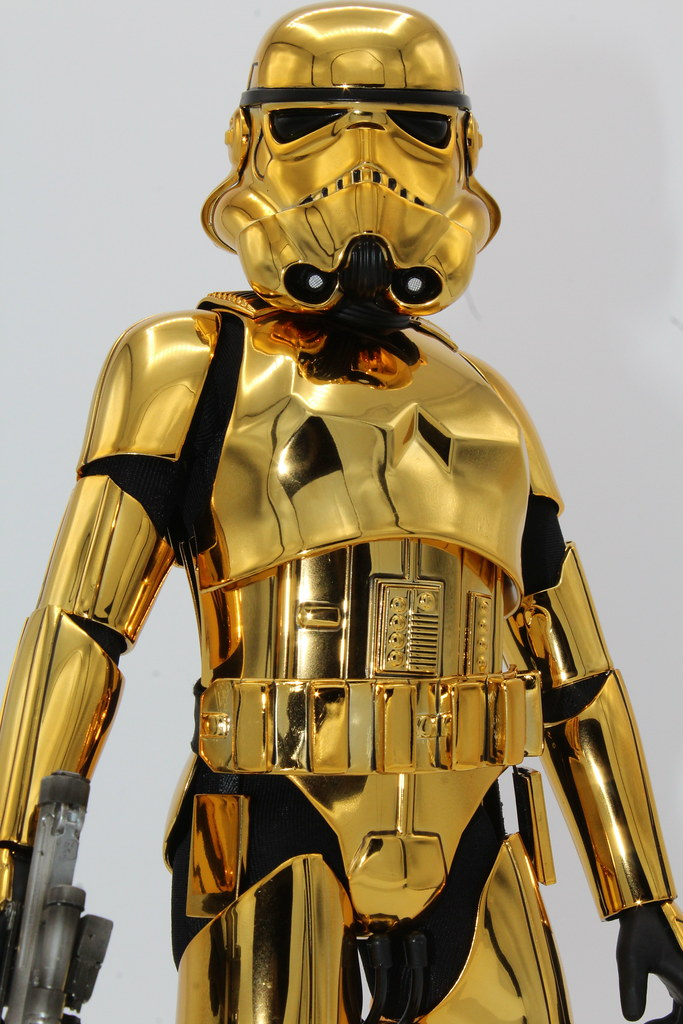 Hot Toys Gold Chrome Stormtrooper  Kenny  Flickr