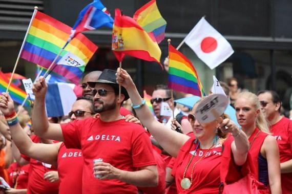 NYC Gay Pride March
