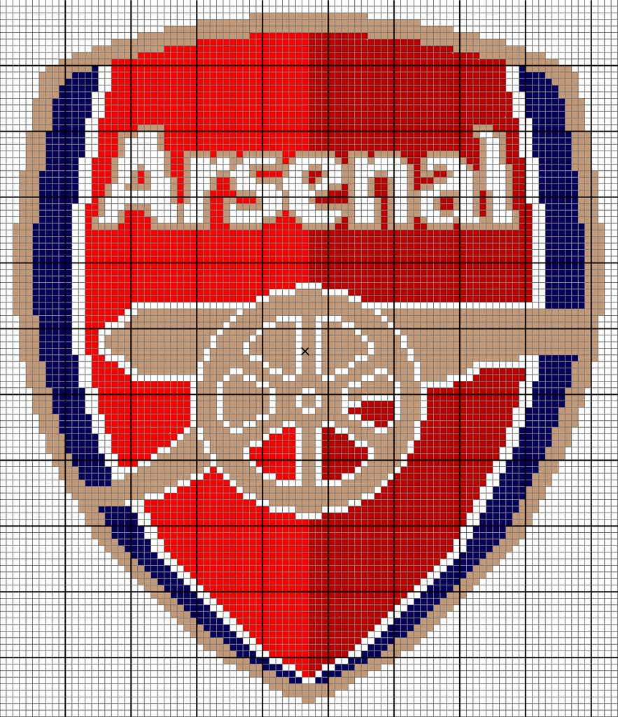Fullsize Arsenal Pattern  Right click on the image and vie  Flickr