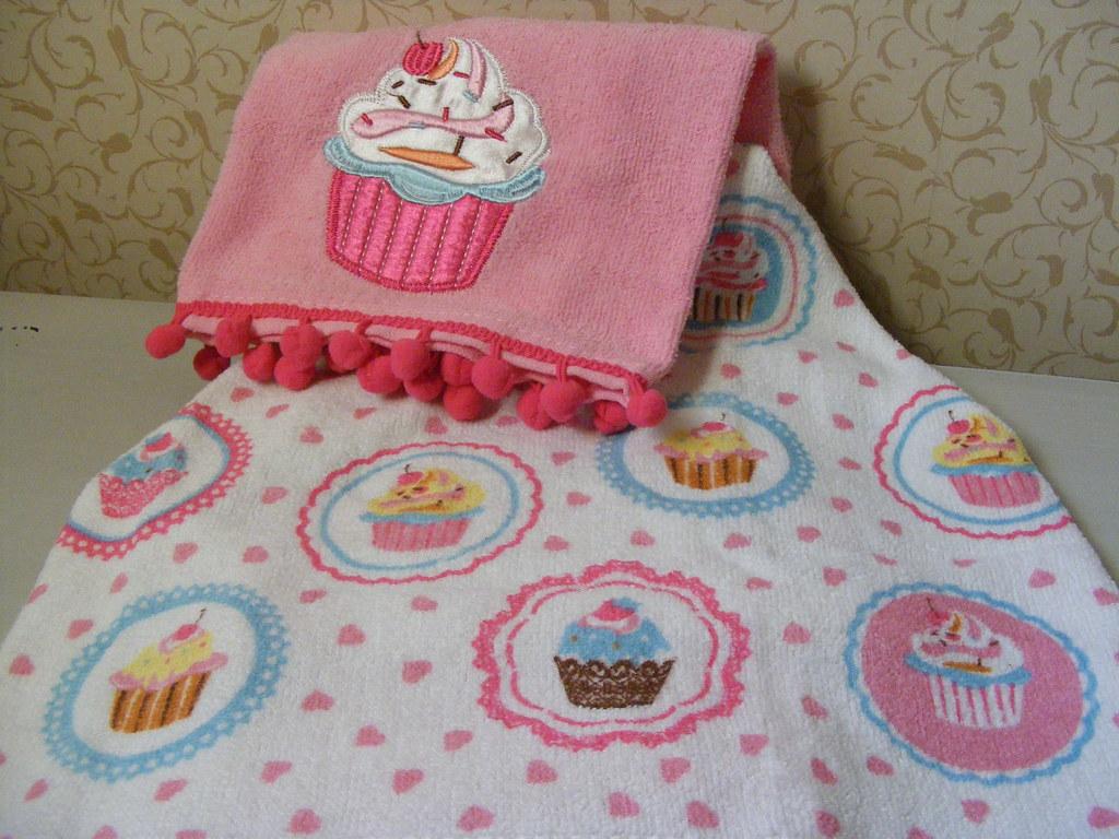 kitchen towels cart cupcake tea (primark home) | ...