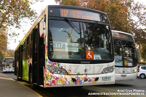 Transantiago - Inversiones Alsacia - Caio Mondego L / Volvo (CJRF27)