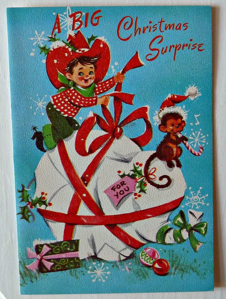 Vintage Cowboy Christmas Card Part Of My Vintage