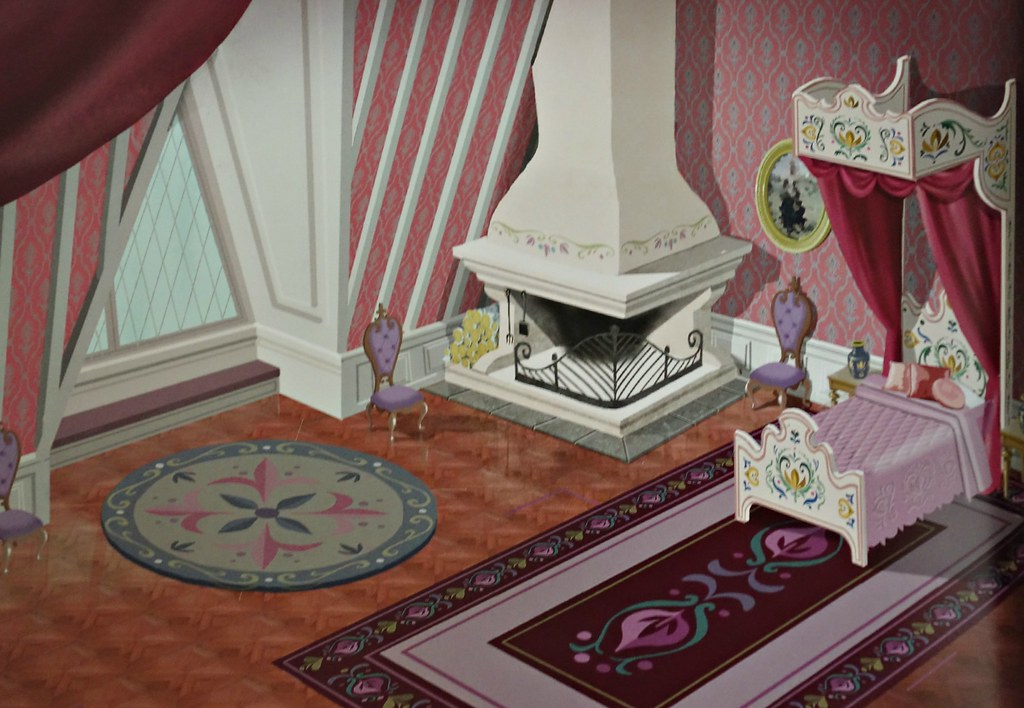 frozenannas bedroom  very fitting for a princess  Flickr