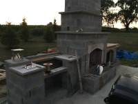 Outdoor Fireplace/Grill - Project Showcase - DIY Chatroom ...