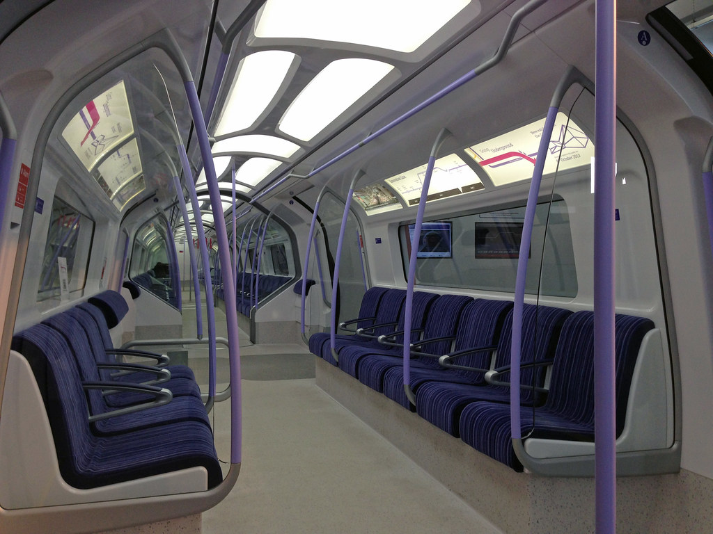 Potentially new tube train design  But only if TfL give the  Flickr