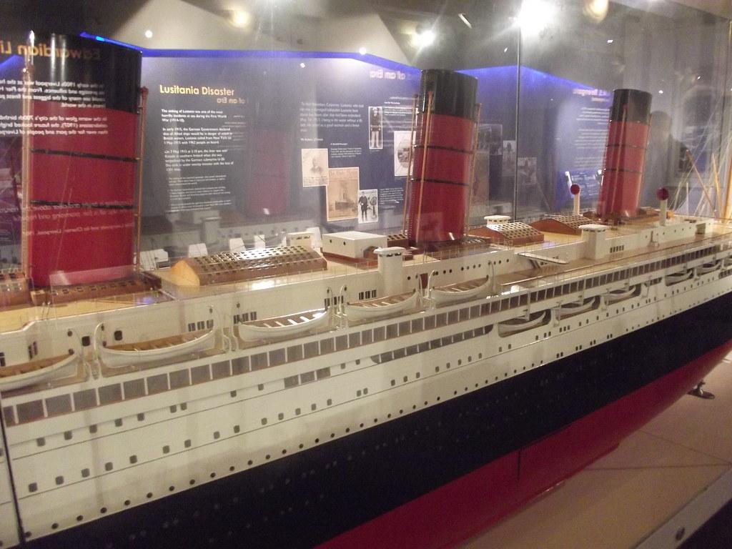Merseyside Maritime Museum  Albert Dock Liverpool  Tita