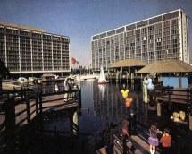 Dock Disneyland Hotel 1980 Tom Simpson