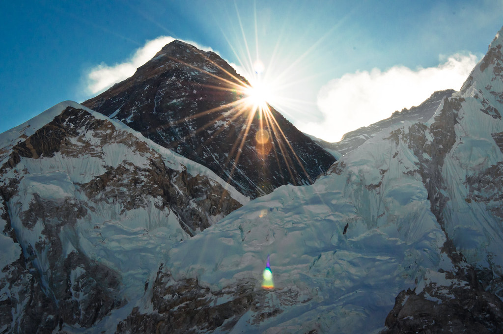 3d Wallpaper Images Sunrise At Gigantic Mount Everest 8 848m Nepal 2014