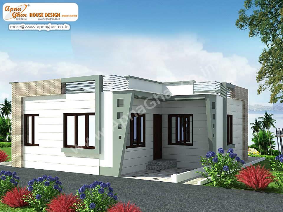 Small Single Floor House Design