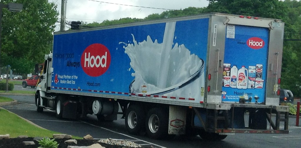 Hood Milk Ice Cream Delivery Truck Hood Supports Boston R