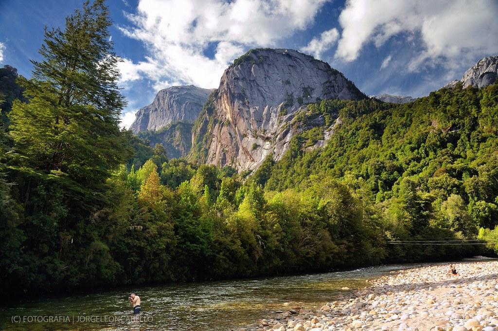 Domos del Rio Cochamo  Valle de Cochamo Patagonia  Chil