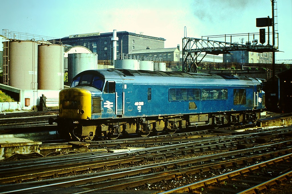 46 038  BR Type 4 Class 46 2500 hp 1CoCo1 No46 038