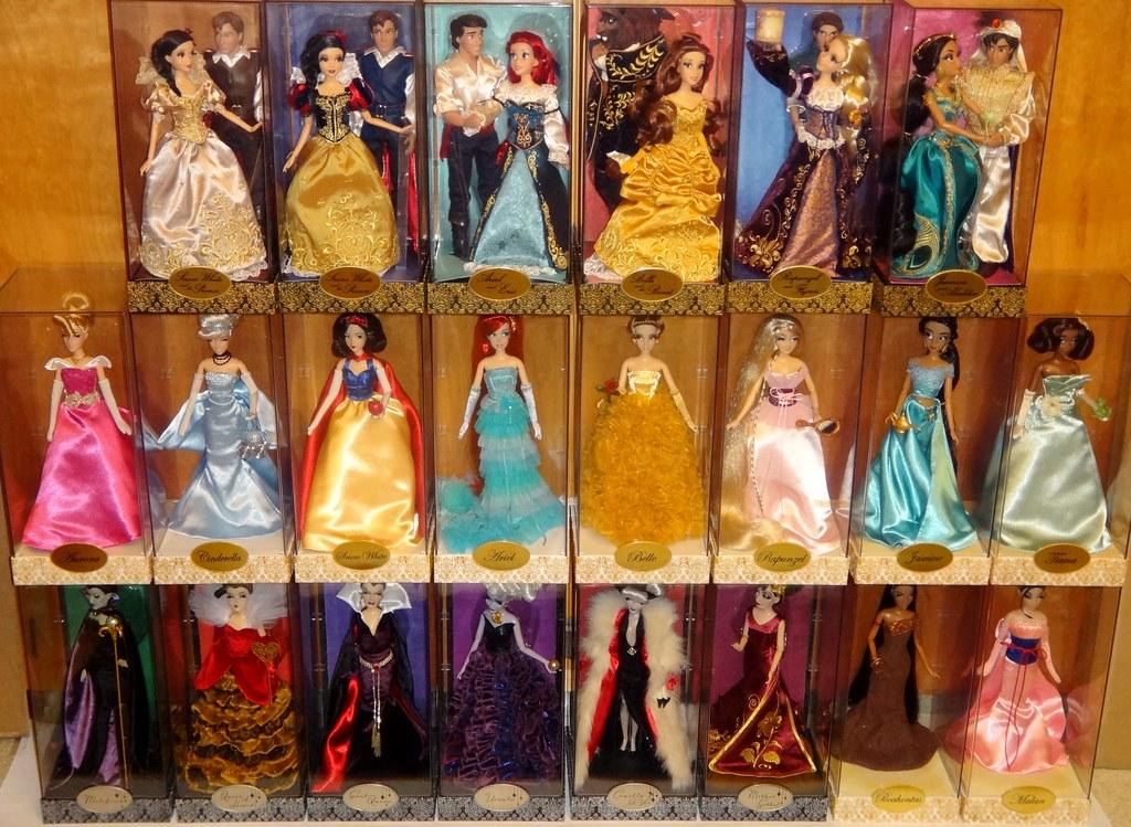 Wall of Designer Dolls  Complete Fairytale Princess Vil  Flickr