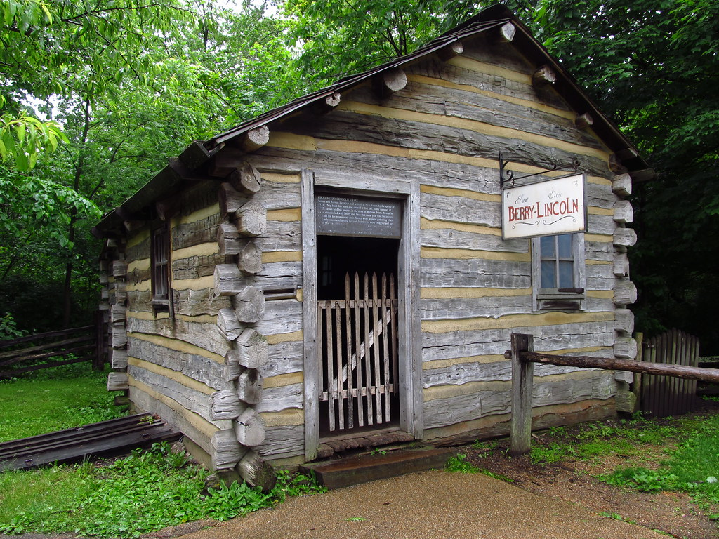 New Salem Illinois  A young Abraham Lincoln moved to the