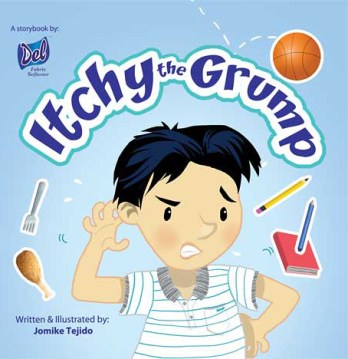 Itchy the Grump Book