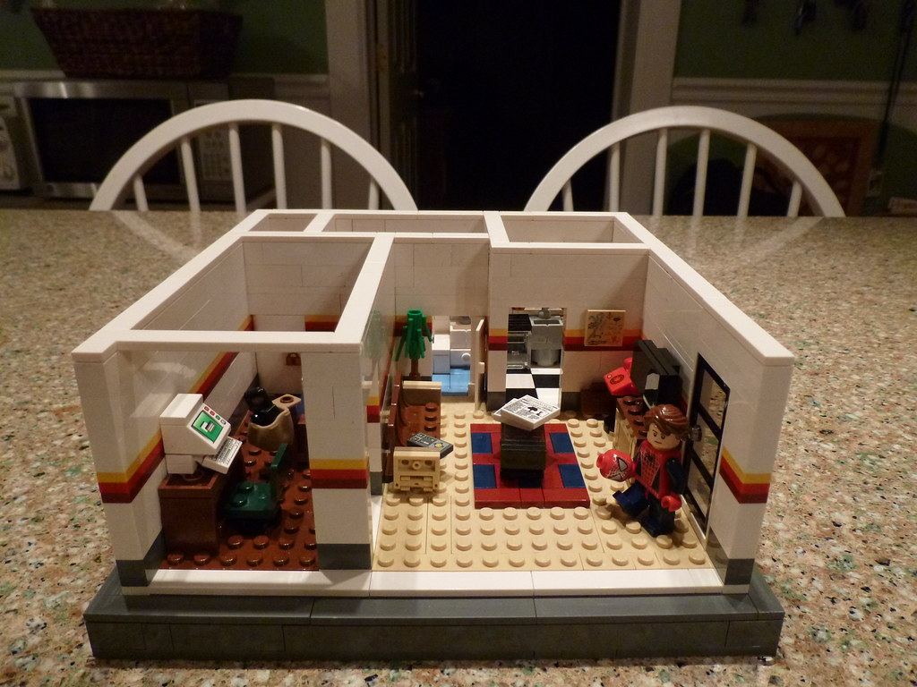 Lego Peter Parkers Apartment Main Photo Read WHOLE Desc  Flickr