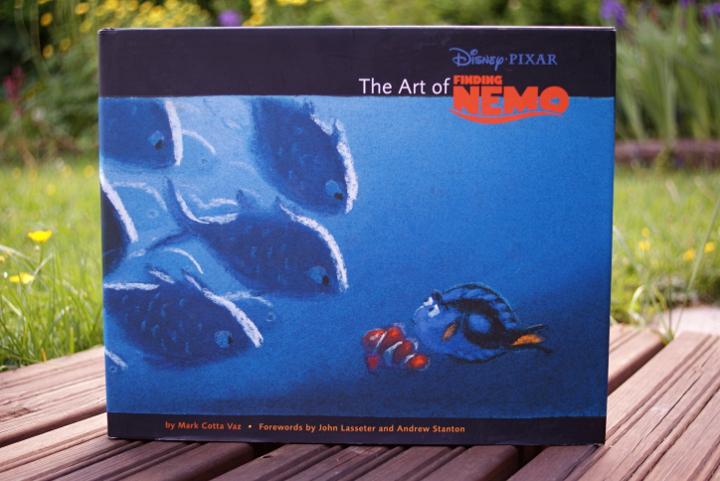 Nemoa etsimässä taidekirja   The art of Finding Nemo - Disnerd dreams