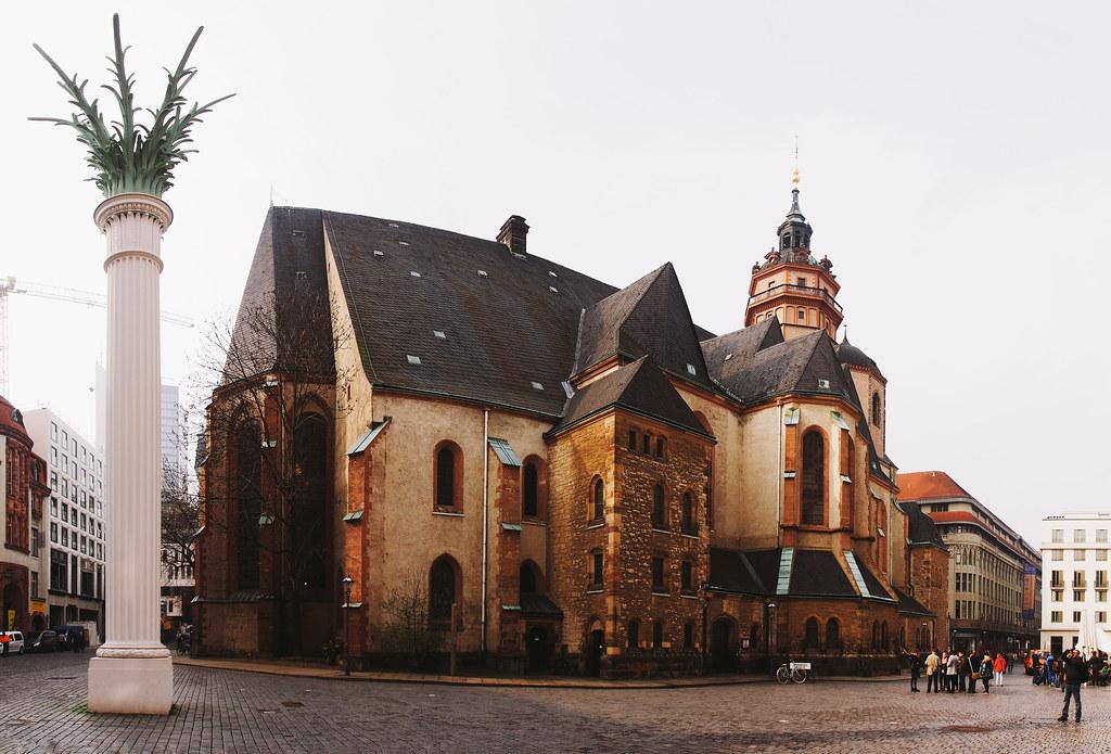 Nikolaikirche St Nicholas Church Leipzig Germany Flickr