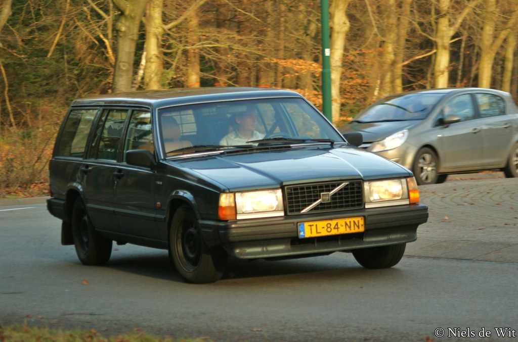 1986 Volvo 740 Estate GLE Turbo Diesel  TL84NN Rotonde