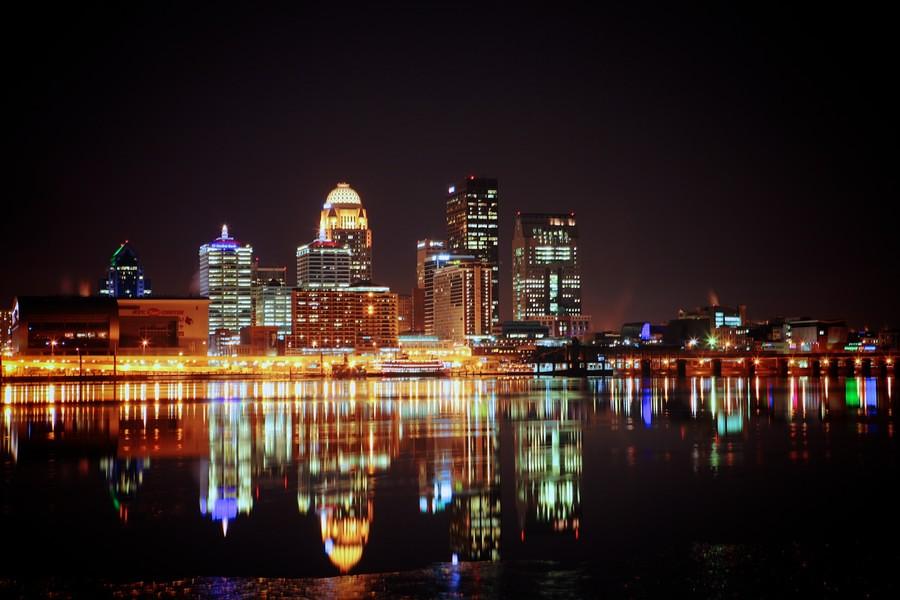 Louisville Skyline  28 Jan 2014  Louisville skyline  28
