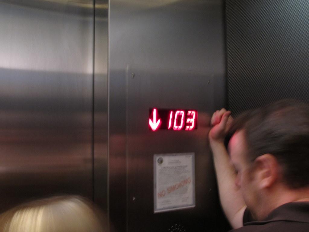 103rd Floor Skydeck Elevator Willis Tower Sears Tower