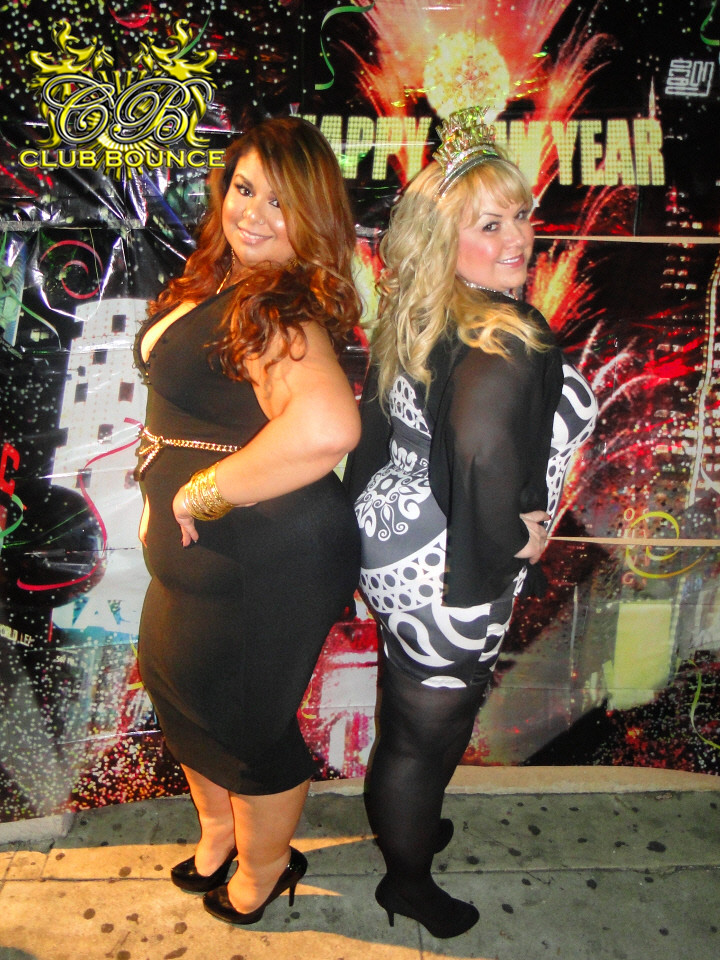 123113 NYE  Club Bounce BBW PROMOTER LISA MARIE GARBO
