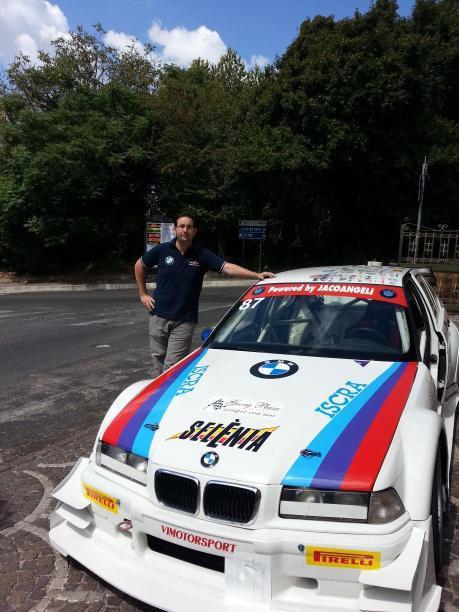 Marco Iacoangeli e la sua BMW 320I
