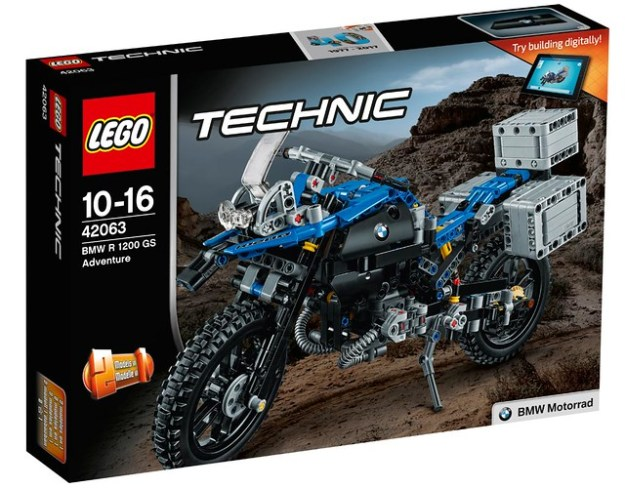 lego reveals bmw r 1200 gs motorcycle set announces new. Black Bedroom Furniture Sets. Home Design Ideas