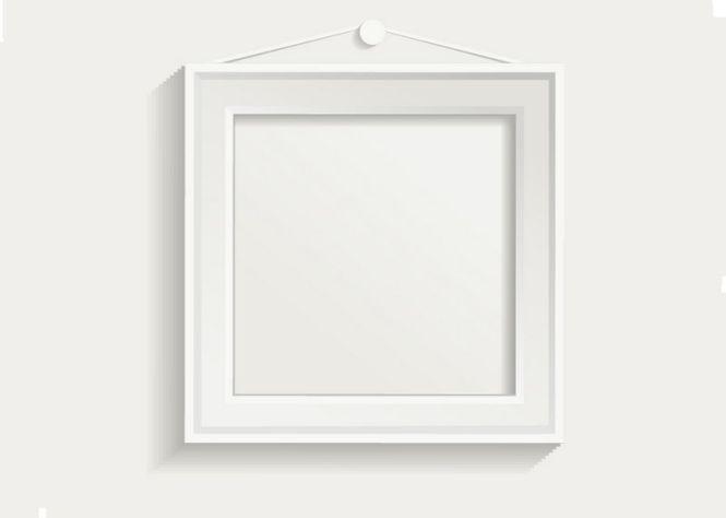 White-photo-frame-set-04-vector