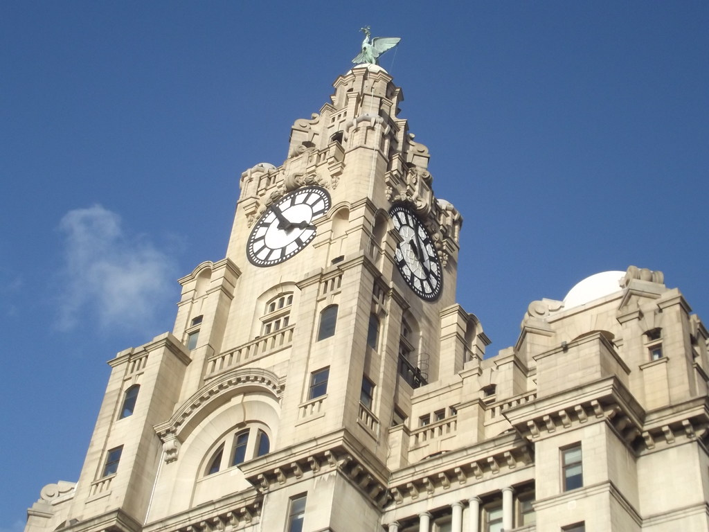 The Three Graces  Liverpool Waterfront  The Royal Liver