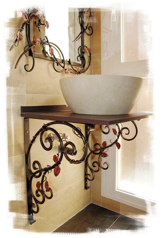 Muebles de Bao en Forja y Acero Corten de Olaya Herrera   Flickr