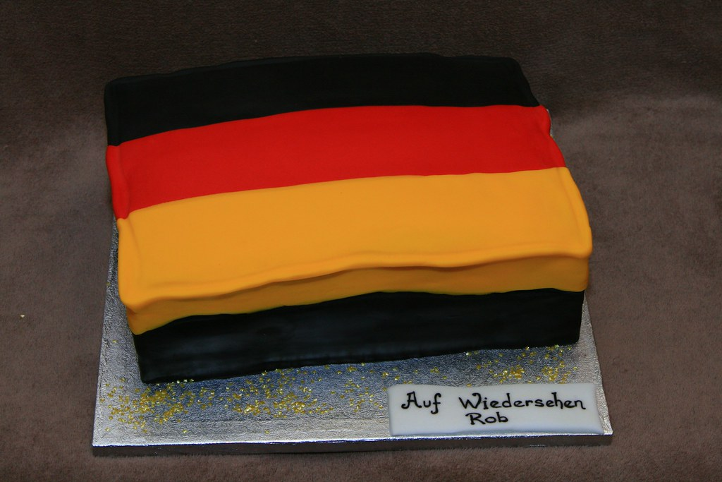 German Flag Cake Eldriva Flickr