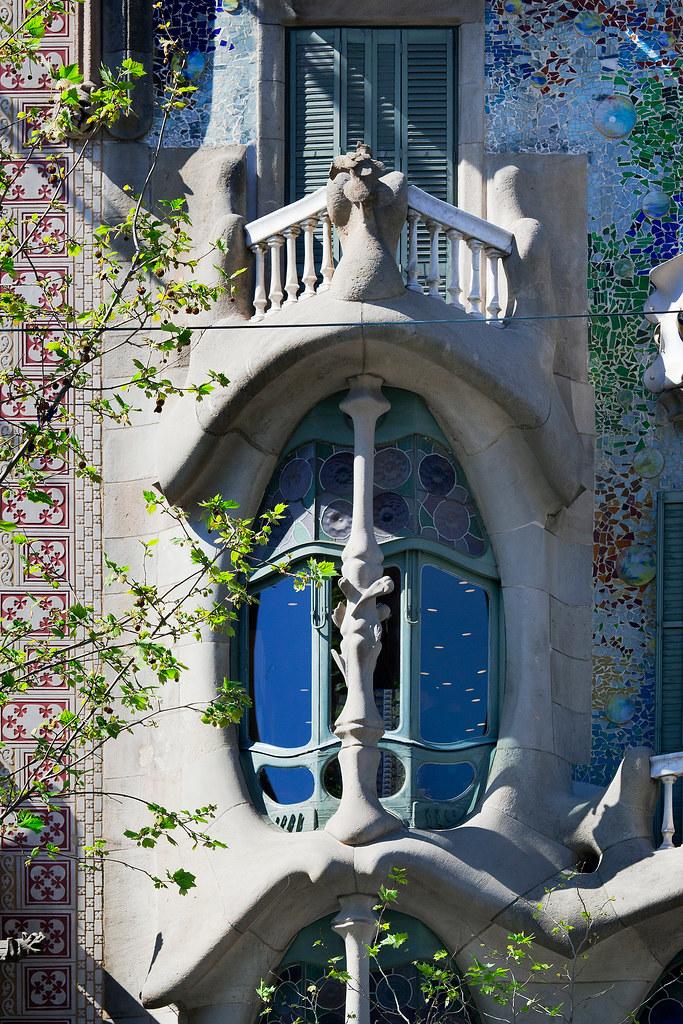 Casa Batll  Barcelona Spain  Antoni Gaudi  Educational  Flickr