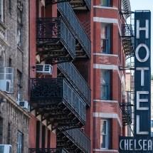 Chelsea Hotel Landmark In Downtown Nyc