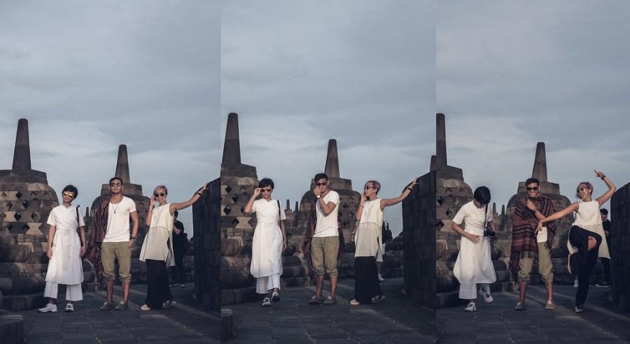 Pak Ganern at Borobudur