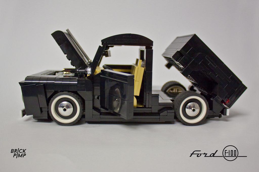 LEGO FORD F100 50s  118  custom car  LEGO Ideas ide  Flickr