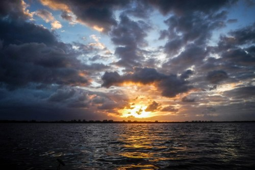 Indian River Sunrise on Thanksgiving-23