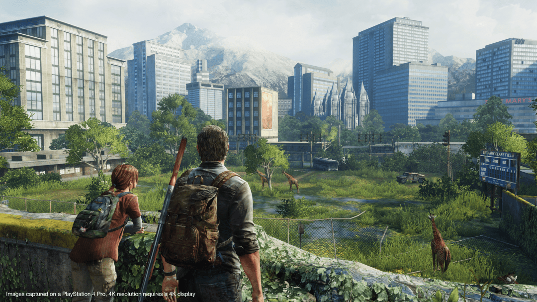 The Last of Us Remastered on PS4 Pro