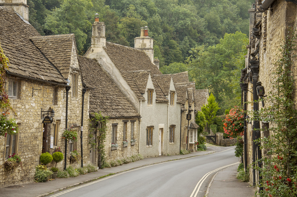 Castle Combe Wiltshire  Caslte Combe is considered one