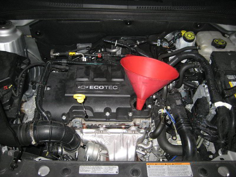 2011 Chevy Cruze Engine Diagram 2013 Gm Chevrolet Cruze Ecotec 1 4l Turbo I4 Engine Ch