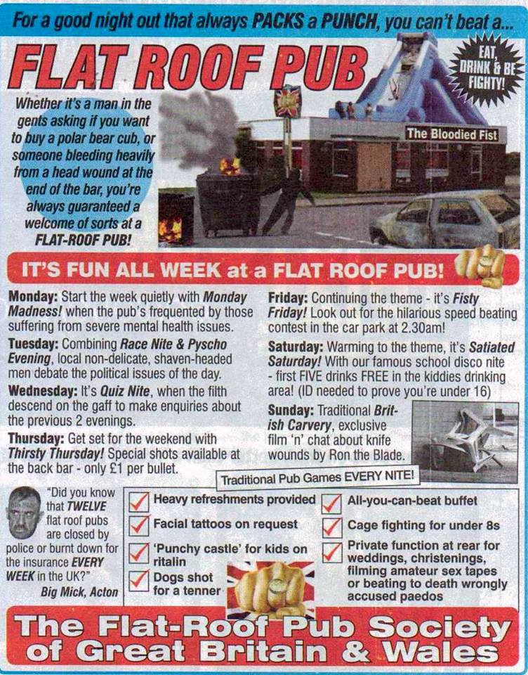 Viz Comic  Its fun all week at a Flat Roof Pub   Flickr