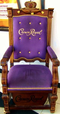 The Crown Royal Throne