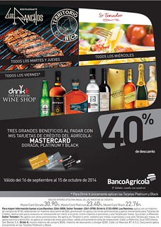 drink it The WINE shop disocunts banco agricola - 16sep14