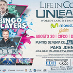 ISTMO music show LIFE in COLOR paint party 2014