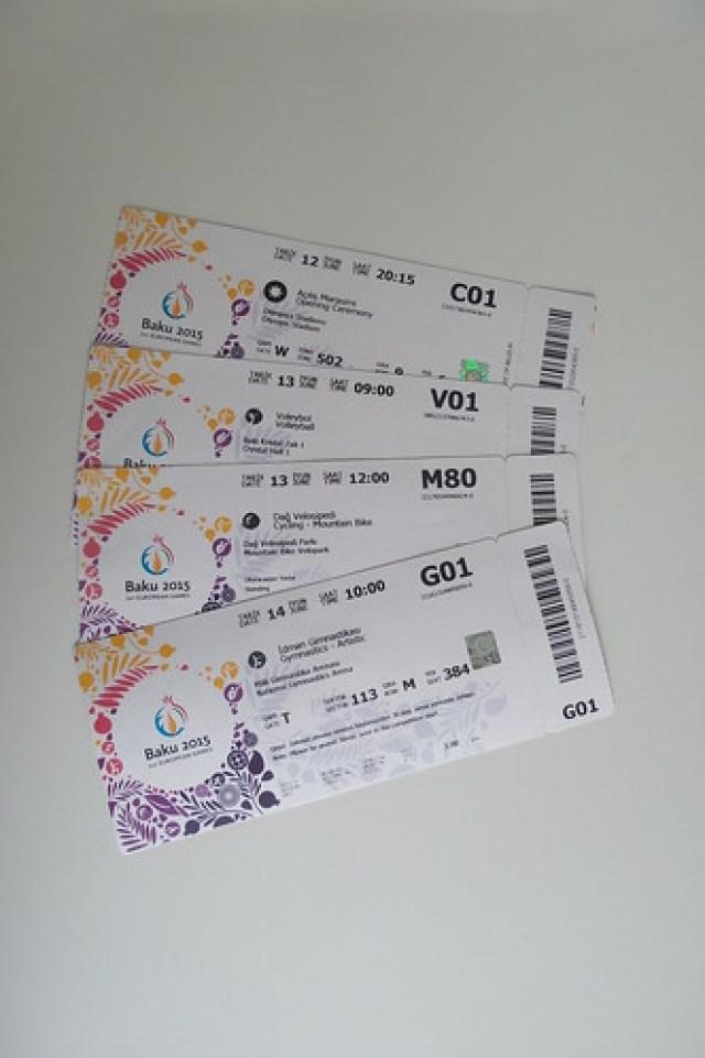tickets Baku